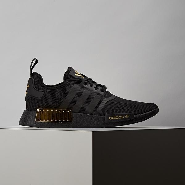 Adidas Originals NMD R1 11 男 黑金 復古 慢跑 休閒鞋 H67844