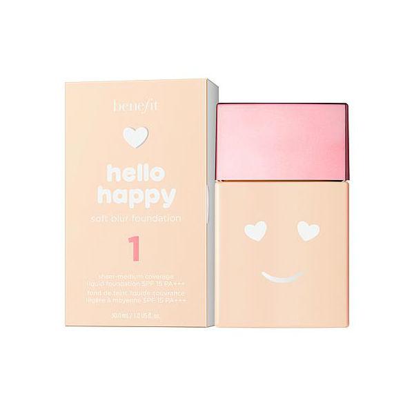 【benefit】Hello Happy柔焦防曬粉底液 30ml