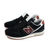 NEW BALANCE 996系列 運動鞋 復古鞋 黑色 男鞋 CM996BC no826