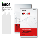 iMos SAMSUNG Galaxy Note 10 Lite 3SAS 螢幕保護貼