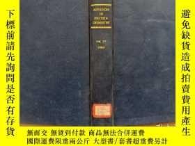 二手書博民逛書店ADVANCES罕見IN PROTEIN CHEMISTRY 白質的化學進展 第15卷 英文版Y302069
