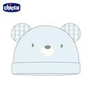 chicco- 粉彩-小熊造型嬰兒帽