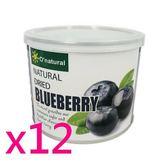 歐納丘晶鑽藍莓乾(210g*12罐)