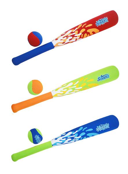 SOAK 水中玩具立體棒球-泳池/沙灘 趣味沉潛水尋寶玩具 增加戲水泳訓樂趣 柔軟材質 AN0711-F