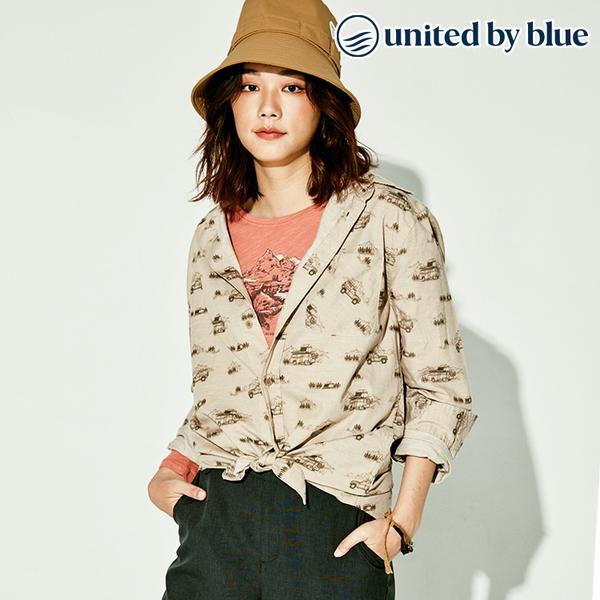 United by Blue 男棉麻彈性襯衫 101-075 Outpost Button Down / 城市綠洲 (有機棉、環保、無化學物、美國)