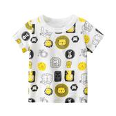 滿版獅子短袖T恤上衣 童裝 T-shirt