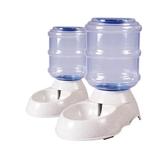 全館83折 寵物狗狗自動喂食器喂水器飲喝水器大容量金毛中大型犬飲水喂水機