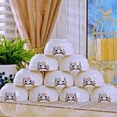 陶瓷碗組 碗碟套裝家用景德鎮歐式骨瓷碗筷陶瓷器吃飯套碗盤子中式組合餐具 小宅君