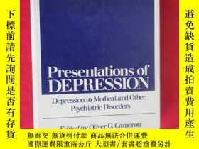 二手書博民逛書店Presentations罕見of DEPRESSION:Depression in Medical and Ot
