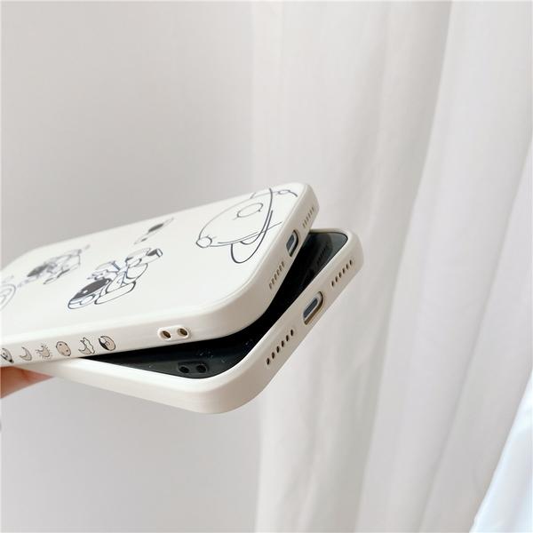 側邊太空人星球 適用 iPhone12Pro 11 Max Mini Xr X Xs 7 8 plus 蘋果手機殼