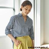 ❖ Spring ❖ 大V領口氣質襯衫上衣 - AMERICAN HOLIC