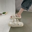 厚底涼鞋 涼鞋女仙女風2021年新款夏天學生羅馬厚底鬆糕網紅涼拖ins潮超火 童趣屋