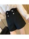 西裝短褲 法式短褲女夏裝2021新款高腰垂感休閒褲寬鬆a字闊腿外穿西裝褲潮 韓國時尚週 免運