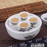 旅行茶具套裝便攜式陶瓷功夫茶盤迷你型戶外旅游可提包袋 igo魔方數碼館
