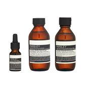 Aesop 香芹籽抗氧化精露 + 香芹籽潔面露 + 香芹籽抗氧化活膚調理液 組合, 共3件