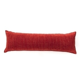 香奈兒絨棉長抱枕 40x120cm 紅色款