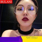 眼鏡框素顏鏡架眼睛潮男女韓版復古圓臉平光鏡
