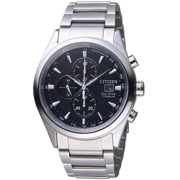 星辰 CITIZEN GET'S系列清新時尚計時鈦金屬腕錶 CA0650-82F