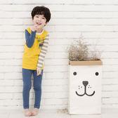韓國童裝貝貝龍 九分袖套裝 拼接上衣&鉛筆長褲二件組英雄 男童【18S-2034GASB】