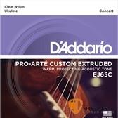 D'Addario EJ65C 23吋烏克麗麗弦 Concert 【EJ-65C/UKULELE/DAddario】