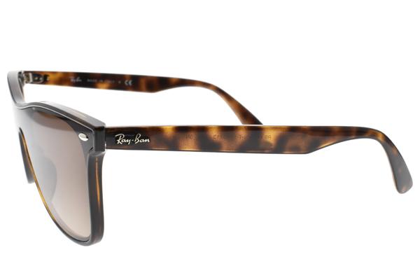 RayBan 太陽眼鏡 RB4440NF 71013 (琥珀棕-漸層棕鏡片) 潮流方框款 # 金橘眼鏡