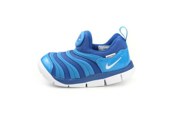 NIKE 毛毛蟲鞋 童鞋 藍色 小童 343938-419 no002