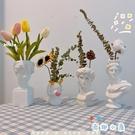 插花花瓶大衛雕像復古客廳家居石膏雕塑干花裝飾擺件【奇趣小屋】