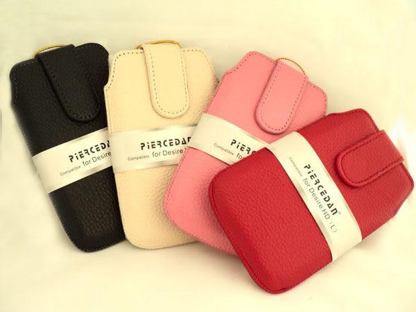 皮爾斯丹 piercedan*真皮皮套/保護皮套/抽拉式皮套/抽拉式/HTC Desire HD A9191/3C數位包/行動電源包