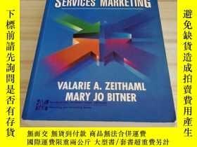 二手書博民逛書店SERVICES罕見MARKETING 營銷Y312914 :
