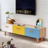 售完即止-電視櫃北歐電視櫃家具客廳現代簡約小戶型臥室電視機櫃地櫃8-21(庫存清出T)