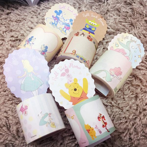 PGS7 迪士尼系列貼紙 - 迪士尼 黏貼式 禮物 標籤紙 貼紙 愛麗絲 小美人魚 小熊維尼【SHJ61111】
