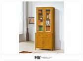 【MK億騰傢俱】ES613-01香杉美檜3尺書櫃(全組)