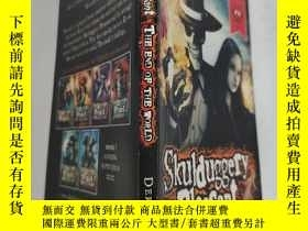二手書博民逛書店skulduggery罕見pleasant the end of the world 世界末日令人愉快..Y2