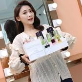 抽屜式化妝品收納盒大號宿舍桌面整理化妝盒護膚品梳妝 台置物架   MKS免運