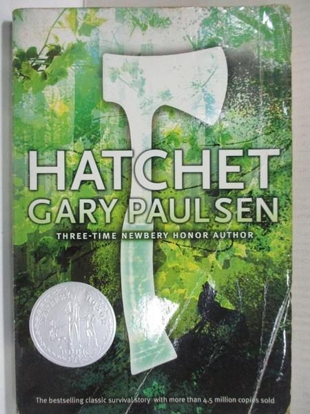 【書寶二手書T1/原文小說_H4I】Hatchet_Paulsen, Gary