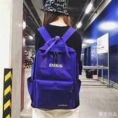 書包女韓版原宿高中學生校園帆布雙肩包新款潮超火背包      麥吉良品