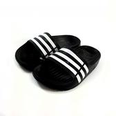 ADIDAS DURAMO SLIDE 超輕量防水運動拖鞋《7+1童鞋》7230黑色