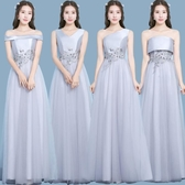 2020新款韓版大氣伴娘禮服晚禮服姐妹宴會派對長裙