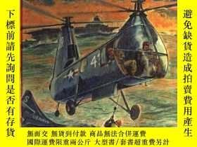 二手書博民逛書店B002OI7M66罕見The Big Book of Real Helicopters How They Wor