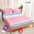 專利吸濕排汗  小公主 絲柔棉薄床包 台灣製 MIT 雙人薄床包 兒童床包