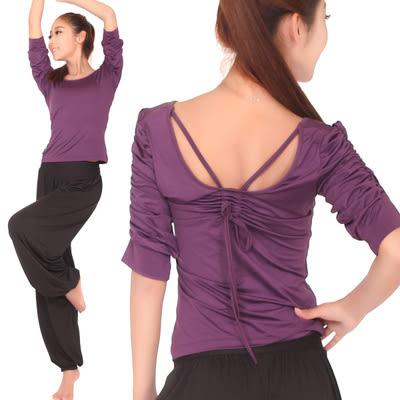 女士瑜伽服套裝春夏季寬鬆顯瘦運動健身瑜珈舞蹈練功愈加服秋 - lxy001018
