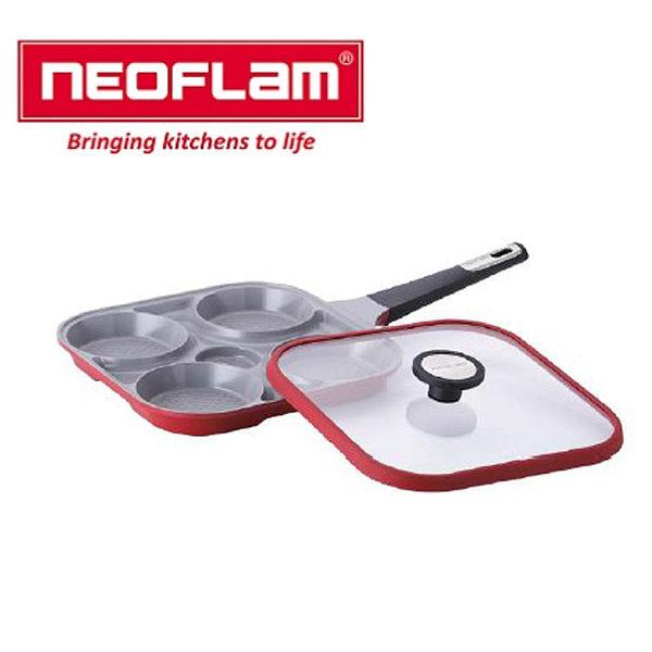 韓國【NEOFLAM】27cm烹飪神器+玻璃蓋EK-SP-F27