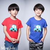 童裝 上衣 數字2汽車短袖上衣(共2色) Azio Kids 美國派 童裝