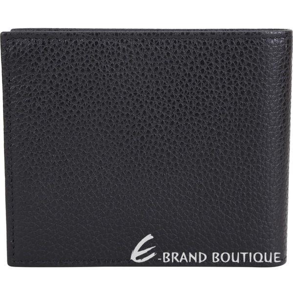 LONGCHAMP Le Foulonne 荔紋牛皮八卡對折短夾(黑色) 1840613-01