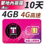 【TPHONE上網專家】蒙地內哥羅 (黑山) 高速上網 包含4GB網路超大流量 插卡即用 10天