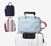旅行袋 拉桿包短途旅行包女手提旅遊包男斜背包大容量單肩行李包牛津防水 七色堇