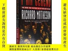 二手書博民逛書店英文原版罕見我是傳奇 威爾·史密斯電影原著 I am LegendY335736 Matheson, Rich