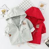 嬰兒外套 寶寶外套 春秋開衫幼兒上衣風衣男女嬰兒外出服 中秋鉅惠