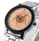 簡約復古鋼帶手錶/情侶對錶 199元