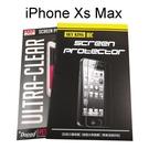亮面高透螢幕保護貼 iPhone Xs Max (6.5吋) 雙面